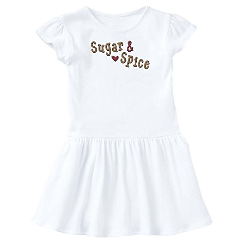 inktastic Sugar_n_Spice_WA Toddler Dress 2T White - White Spice Dress Baby