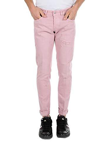 f719d5c93c DONDUP Jeans George 5 Tasche Rosa MOD. George: Amazon.it: Abbigliamento