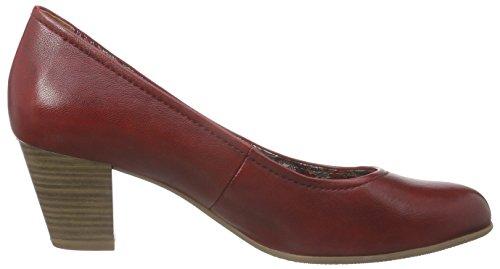 Tamaris 22408 - Zapatos de Tacón Mujer Rojo - rojo (Chili 533)