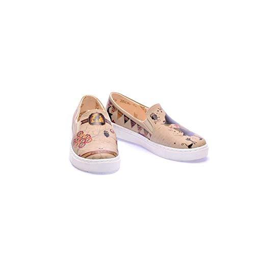 Da Sneakers Kids Ballerina Halloween Uk coc4000 Coc4018 Bambina Series Scarpe Goby EqfTOx7n