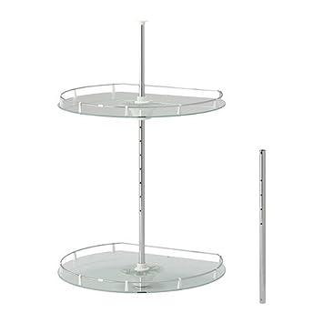 Ikea Utrusta Wand Eckschrank Karussell Amazon De Kuche Haushalt