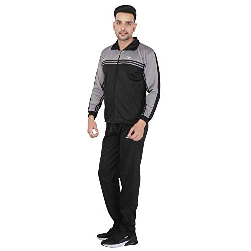 31nwiuqVkHL. SS500  - HPS Sports Tracksuit for Men,Silver Colour Polyester Slim fit Summer Trending Casual and Gym wear Specially Designed for Athletic Body