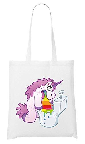Hurling Unicorn Bolsa Blanco Certified Freak