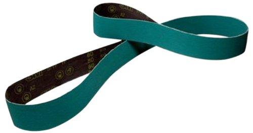 4 Width x 132 Length Pack of 25 Wet//Dry 4 Width x 132 Length 00051115275623 Green Alumina Zirconia 50 Grit 3M Cloth Belt 577F