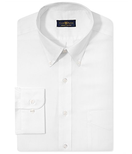 Club Room White Pinpoint Regular Fit Dress Shirt . - Msrp Club Room White Dress Shirt