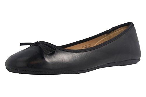 Ballerine nero Fitters nero donna Footwear X5w4Z