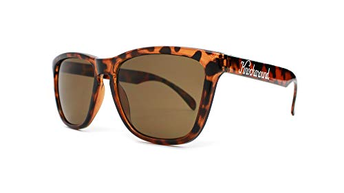 Knockaround Classics Unisex Sunglasses With UV400 Protection, Tortoise Shell Frames/Brown ()