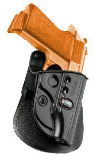 Concealed Carry Fire Arm Fobus Roto / Retention Evolution E2 Hand Gun Holster Model PPND-RT. Fits to: FEG (feg).380, Walther PP, PPK, PPKS. Conceal Carry (Arm Fobus Fire Holster Roto)