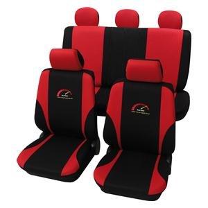 Amazon.es: Eco Class Turbo rojo 11 piezas. Asiento schonbezüge Colchón Auto Colchón