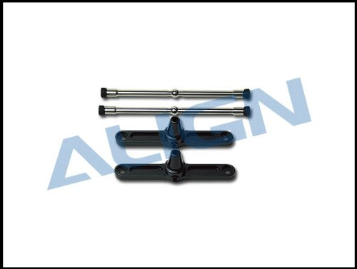Align Metal Flybar Control Arm, Black: All T-Rex 600