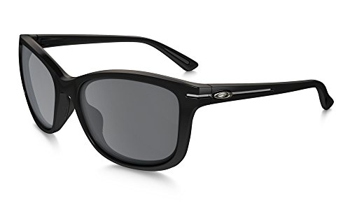 Oakley Women's Drop-In Rectangular Sunglasses, Polished Black, 58 - 2014 Sunglasses Womens