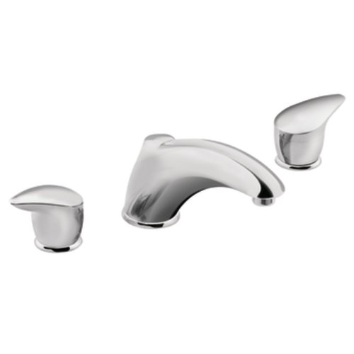 (Moen TL940 Villeta Trim Kit for Two Handle Roman Tub,)