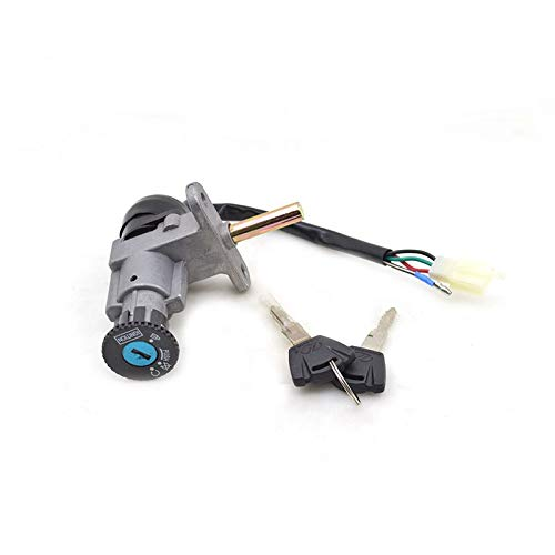StoreDavid - Motorcycle Ignition Switch Lock Set For Yamaha ZY125t-a ZY125 ZY 125 Spare Parts