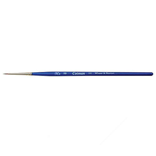 Cotman Winsor & Newton Brush Series 111 (Size 00), Synthetic Material, 0