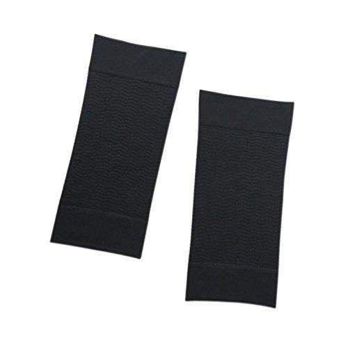 Orcbee  _Beauty Women Shaper Weight Loss Legs Thin Arm Off Fat Buster Slimmer Wrap Belt (Black)