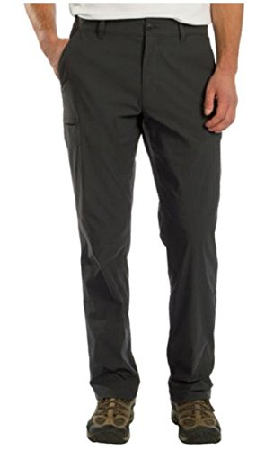 Tech Pants - UB Tech by Union Bay Men's Classic Fit Comfort Waist Chino Pants (32 x 32, Charcoal)
