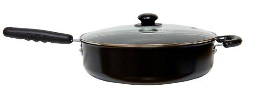 Home Basics 11-Inch Chicken Fryer, Carbon Steel