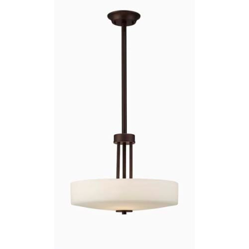 Canarm ICH431A03ORB16 Quincy 3-Light Chandelier