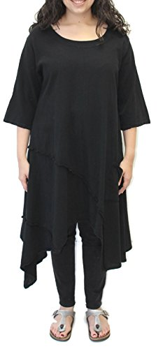 long black gauze dress - 6