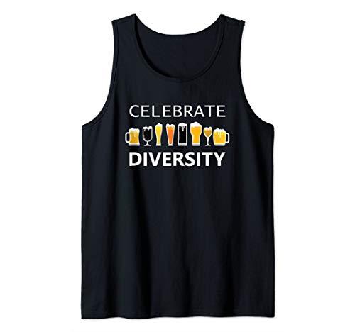 Celebrate Diversity Craft Beer Lover IPA Prost Oktoberfest  Tank Top