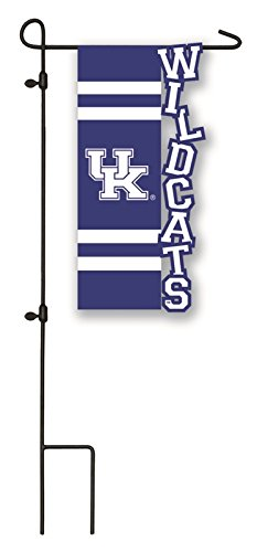 Team Sports America Kentucky Wildcats Applique Garden Flag, 12.5 x 18 (Kentucky Wildcats Applique)