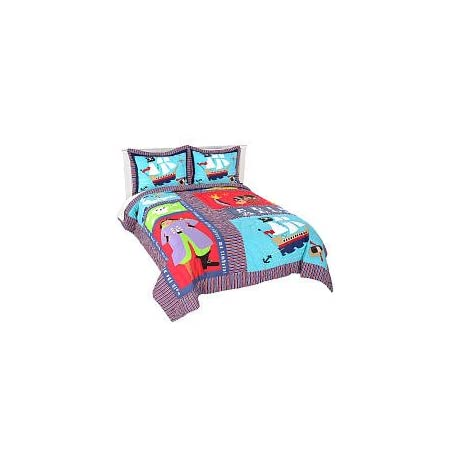 31nx4I71mdL._SS450_ Pirate Bedding Sets and Pirate Comforter Sets