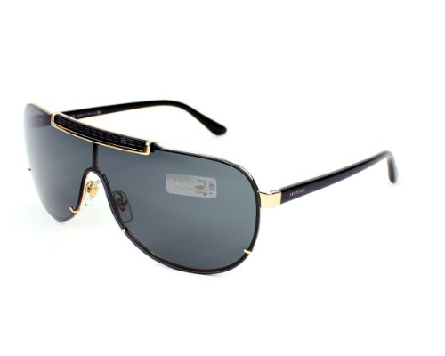 Versace Sunglasses VE 2140 BLACK 1002/87 ()