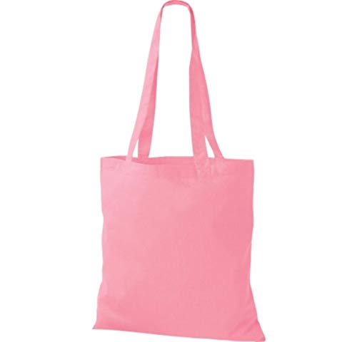 Classic À Toile De Sac Bandoulière Colorent Shirtinstyle En Courses Pink Beaucoup Coton Premium U01Hg4cqwP