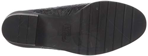Zuecos Leather Walking Black Tooled Talla Mujeres Cradles EwaA4q