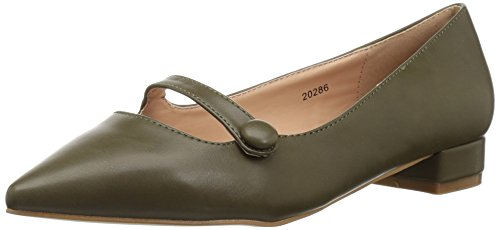 Brinley Co Womens Vilma Loafer Flat Olive XLkYTnxc