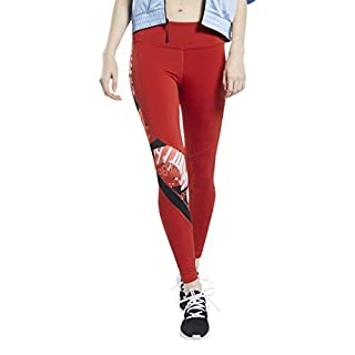 Reebok Workout Ready Meet You There Tight, Legacy Red, S