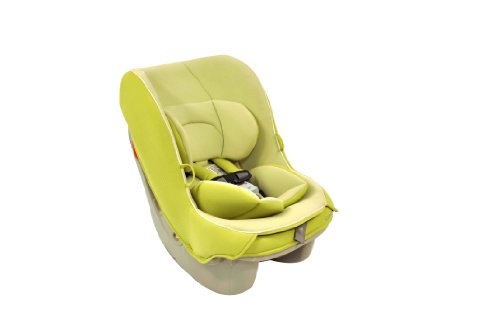 Combi Compact Convertible Car Seat for Baby and Toddler - Fits Three Across - Coccoro - Keylime