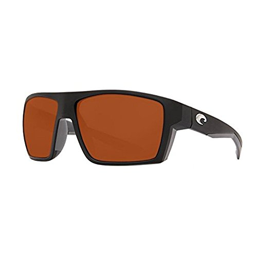 Costa Del Mar Bloke 580P Bloke, Matte Black Matte Gray Copper, - Del Mar.com Costa