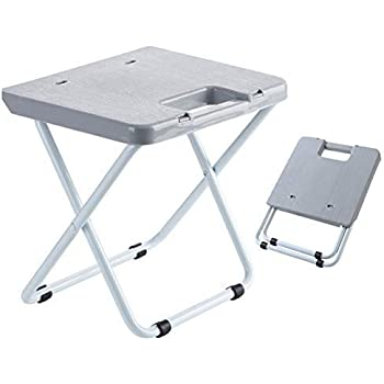 Amazon Com Mini Portable Folding Stool Light Weight Metal