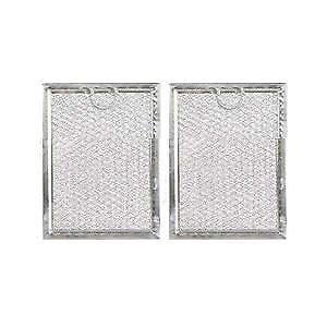 YourStoreFront (2-PACK) Microwave Aluminum Mesh Grease Filter for GE WB06X10309 Advantium JVM1490