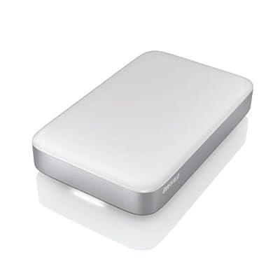 BUFFALO Technology MiniStation Thunderbolt/USB 3.0 Portable Hard Drive with Thunderbolt Cable, Silver by BUFFALO