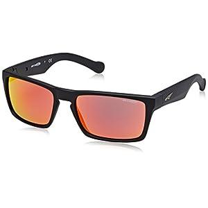 Arnette Specialist Sunglasses - AN4204 01/6Q - Matte Black/Grey-Red Mirror