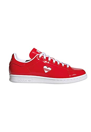 White active W Red Stan Adidas Gymnastique Smith Active Rosso De Red Femme ftwr active Red Chaussures wBUCgUPq
