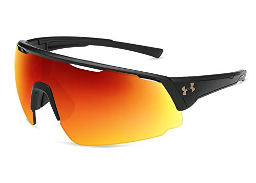 Under Armour Changeup Sunglasses, Black / Tuned Baseball Lens, 135 mm
