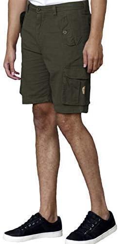 Mens Cargo Shorts D555 Duke King Size Cotton Knee Length Combat LARRY Summer New