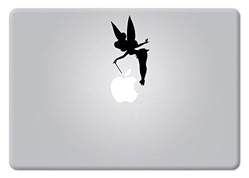 Tinker Bell Fairy Peter Pan Disney Macbook Laptop Decal Vinyl Sticker Apple Mac Air Pro Retina Laptop sticker