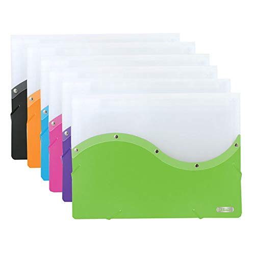BAZIC Two Tone Letter Size Document Case