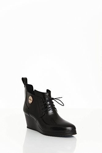 Nokian Footwear by Julia Lundsten - Zapatos de goma -Lace Up Shoe- (Originals) [LUS123] negro