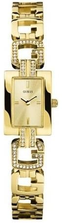 Guess G-Link Gold-Tone Crystal Ladies Watch U10614L1