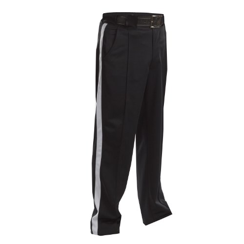 Adams USA Smitty FBS182 Football Officials Warm Weather Weight Pants (Black, (Football Referee Pants)