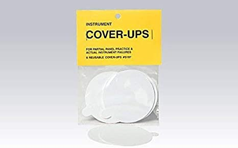 Instrument Cover-Ups for IFR Glass Panel Training 3-Pack PFD//MFD
