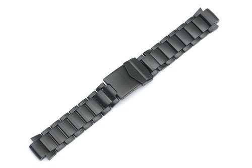Swiss Army Base Camp Large Black PVD Stainless Steel Watch Bracelet