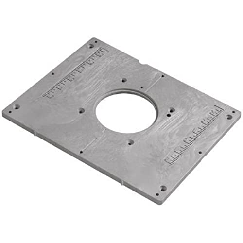 Router table mounting plate amazon bosch ra1185 router table mounting plate greentooth Choice Image
