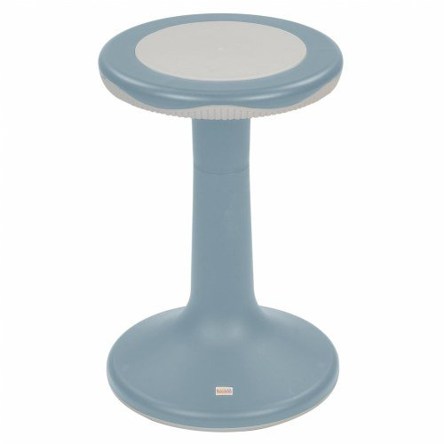 20'' K'Motion Stool - Gray-Blue by Kaplan Early Learning Company