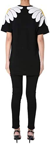 Boutique Fashion Moschino Woman 048308001555 Black Cotton T-Shirt | Spring Summer 20